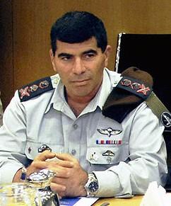 Israels Generalstabschef Gabi Ashkenazi