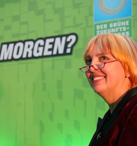 Claudia Roth, Bundesvorsitzende von Bündnis 90/Die Grünen.