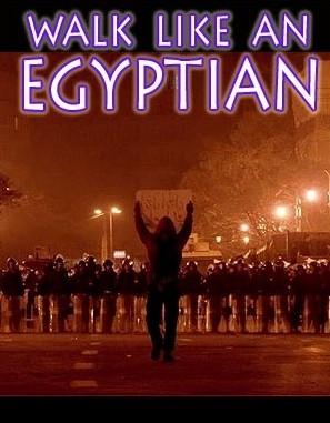 Walk like an Egyptian: Bilder vom Aufstand aus Ägypten
