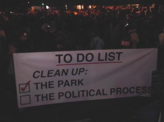 Occupy Wall Street in Action: Der Zuccotti Park in New York