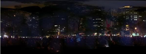 Zuccotti Park heute Nacht