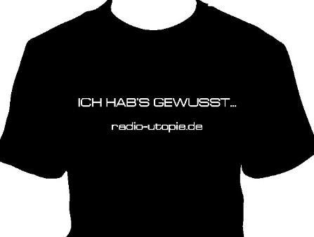 Radio Utopie - Ihr T-Shirt
