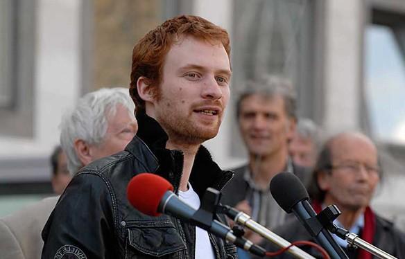 Der Stuttgarter Stadtrat Hannes Rockenbauch (SÖS) gilt als einer Kandidaten der Bürgerbewegung zur Oberbürgermeisterwahl