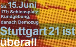 15 Juni Demo Stutgart