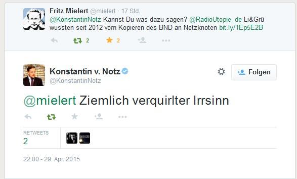 Antwort von Notz an Mielert 29-04-2015 zu Radio Utopie Artikel