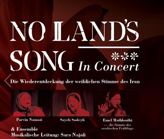 NO LANDS SONG: Das Konzert - am 21. März 2016 in Hannover und am 22.März in Berlin