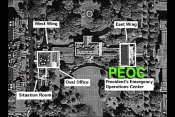Weißes Haus: Der PEOC Bunker